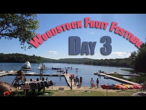 Woodstock Fruit Festival Day 3, Sing along Flash Mob!