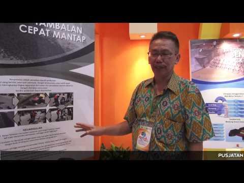 Ritech Expo 2015: Pusjatan Kemenpera Tampilkan Tambalan Cepat Mantap