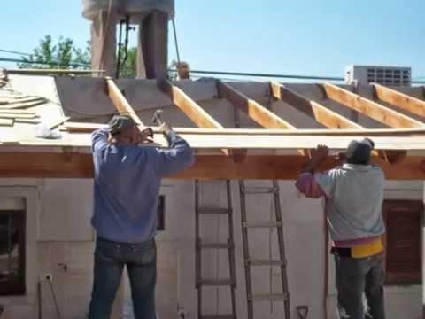 Como hacer un techo de madera TUCLAME, LA RIOJA ,ARGENTINA