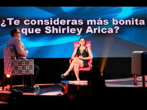 Katty sobre Shirley Arica: