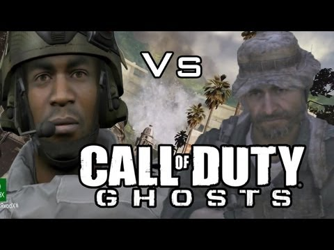 Call of Duty Ghosts vs MW3 Graphics -