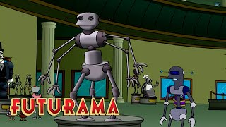 FUTURAMA | Season 2, Episode 19: Mom's Friendly Robot Company | SYFY - SYFY