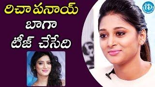 Richa Panai Used To Tease Me - Sushma Raj    Eedu Gold Ehe Movie    Talking Movies With iDream - IDREAMMOVIES