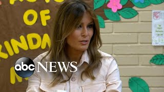 First Lady Melania Trump visits Texas to see migrant children separated from parents - ABCNEWS