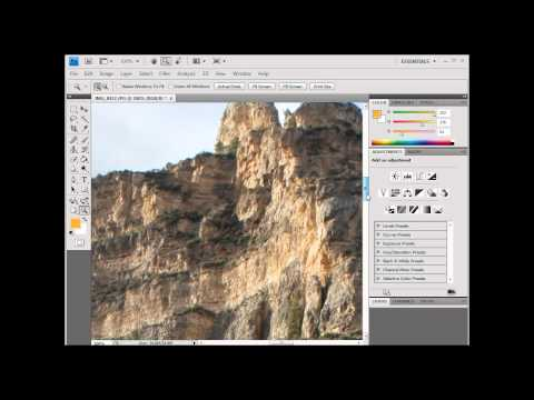 Resizing Images in Photoshop -CS4