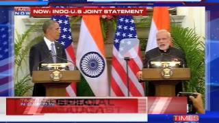 'Pleasure to welcome President Barack Obama' Narendra Modi - TIMESNOWONLINE