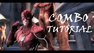Injustice - Combo Tutorial - The Flash (40% No Meter)