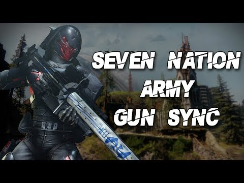Seven Nation Army - Destiny 2 Gun Sync