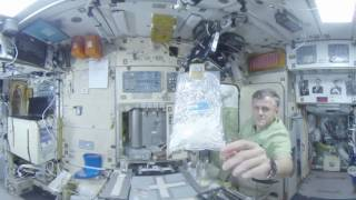 Space 360: Breakfast at the International space station - RUSSIATODAY