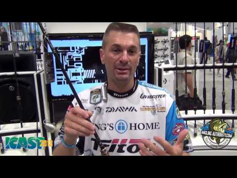 ICAST 2013 New Products - Randy Howell Talks About The New Tatula Rods From Daiwa