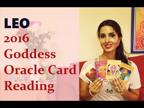 Leo 2016 Goddess Oracle Card Reading