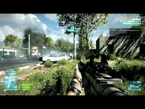 "Battlefield 3 Beta: Caspian Border - Squadcast: ""Spawn On My Boobies"""