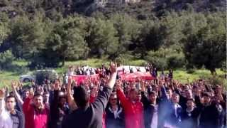 KKTC Ülkü Ocakları Nevruz Şenliği Ülkücü Yemini