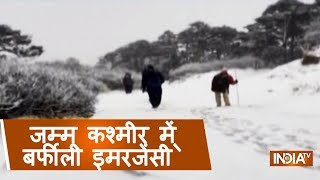 Severe Drop In The Temperatures Of North Indian States, Snowfall In Mount Abu And West Bengal - INDIATV