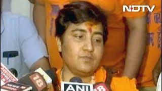 शहीद हेमंत करकरे के खिलाफ बयान वापस लेती हूं: साध्वी प्रज्ञा - NDTVINDIA
