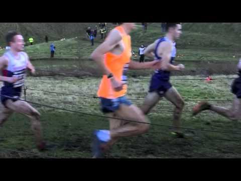 Great Edinburgh XC 2015 Men's 8k slow motion - Derrick, Riley, Hay