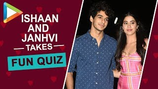 Ishaan Khatter's funny GOOF UP in this Quiz is laugh-riot | Janhvi Kapoor | Dhadak - HUNGAMA
