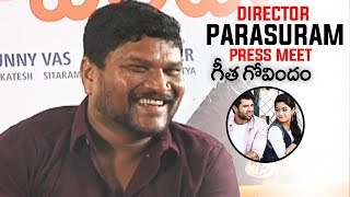 Director Parasuram Press Meet About Geetha Govindam Movie | TFPC - TFPC