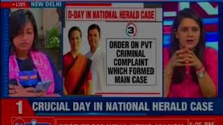 Rahul Gandhi accused of cheating, New Delhi Court to continue National Herald case hearing today - NEWSXLIVE