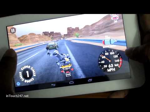 Demo - Highway Rider, Android Bike Race Game on Numy AX1