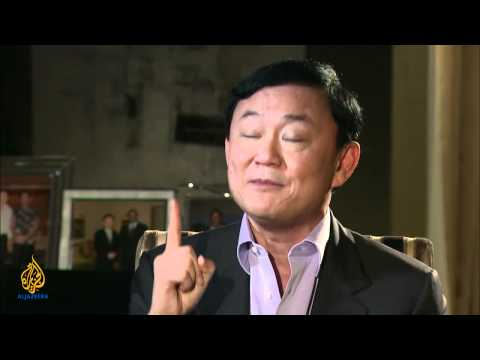 Talk to Jazeera - Thaksin Shinawatra
