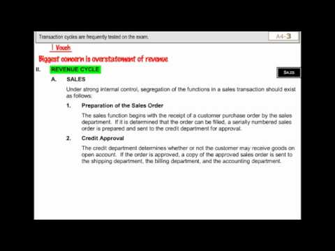 CPA Exam -- Auditing Lecture -- Becker's CPA Exam Review