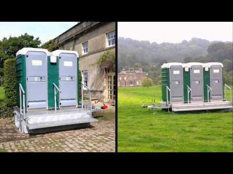 MC Event Loos & fridge trailer hire