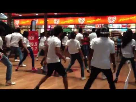 Flash Mob in Sri Lanka - Majestic City