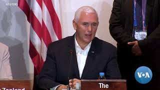 Pence, Xi Sell Competing Views to Asian Regional Economies - VOAVIDEO