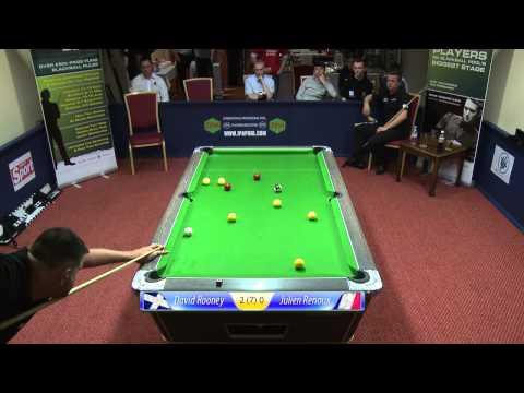 Rooney -v- Renoux, Pool, IPA Tour Nottingham