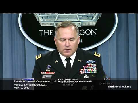 US Army Pacific commander answers questions about North Korea