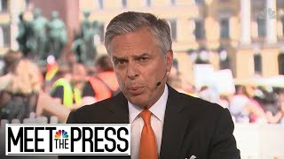 Huntsman: 'You Don't Know What's Going To Come Out Of' Russia Meeting | Meet The Press | NBC News - NBCNEWS