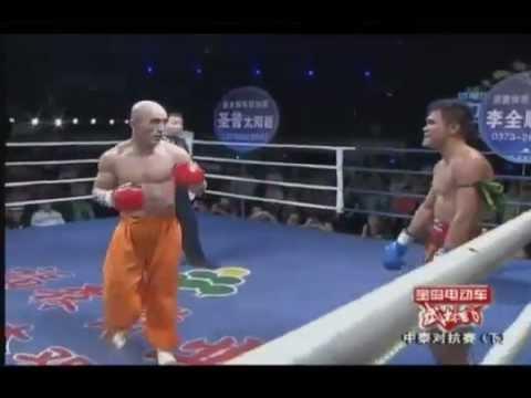 Tổng hợp những pha đấm gục ngã đối thủ của Tân Thiếu Lâm Tự WLF Yi Long