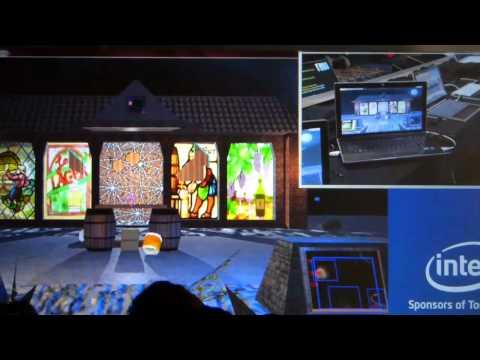 Ultrabook Gesture Demo - CES 2012