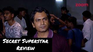 Secret Superstar REVIEW | Nawazuddin Siddiqui Talks On Aamir Khan's Movie - ZOOMDEKHO
