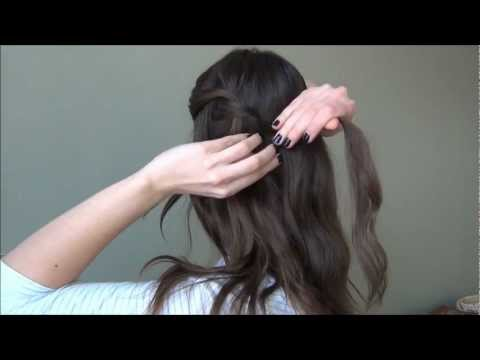 3 Interesting Easy Everyday Hairstyles: Cute/Romantic Braided Hair Tutorial
