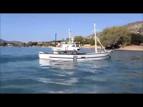 RC boat STATHIS P. - Salamina 2014