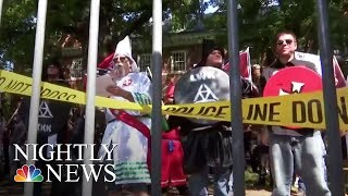 White Supremacist Groups Come Out Into The Open | NBC Nightly News - NBCNEWS