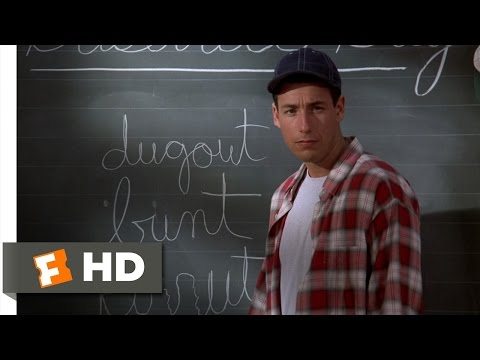 Billy Madison (3/9) Movie CLIP - Billy Has a Cursive Problem (1995) HD