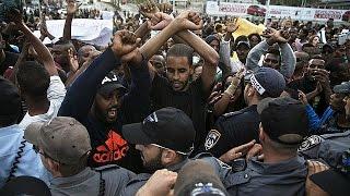 آلاف اليهود الإثيوبيين يتظاهرون في إسرائيل للتنديد بعنف الشرطة