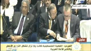 بالفديو .. العربي يطالب المجتمع الدولي بالضغط على إسرائيل لتنفيذ حل الدولتين