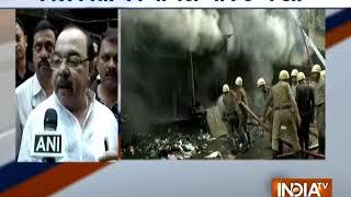 Massive fire breaks out at Kolkata's Bagri market - INDIATV