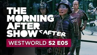 Westworld Season 2 Episode 5 talk gets bizarro: Morning After After Show, Ep. 5 - CNETTV