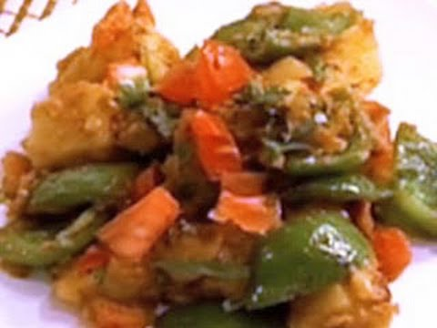 Aloo Capsicum Recipe