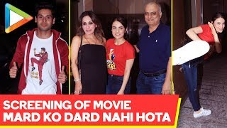 Screening Of Movie 'Mard Ko Dard Nahi Hota' @Juhu PVR - HUNGAMA