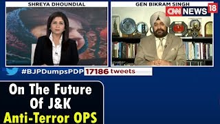 Epicentre Plus | On The Future Of J&K Anti-Terror OPS | CNN News18. - IBNLIVE
