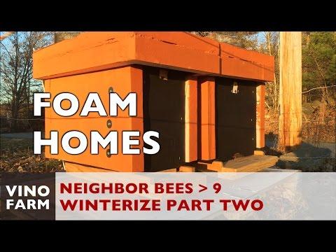 New Bees - Foam Hive Winterization(2) - Week 8