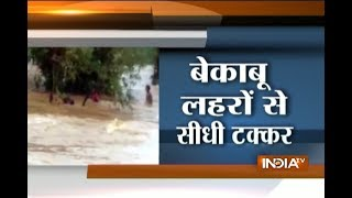 Chattisgarh: See dramatic rescue of boy who get stuck in flood waters for 12 hours - INDIATV