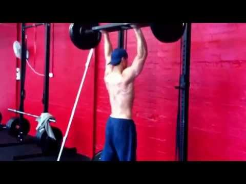 Swiss Bar Overhead Press