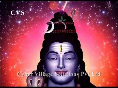 Shivashtkam - Lord Shiva Devotional 3D Animation God Bhajan Songs - om namah shivaya